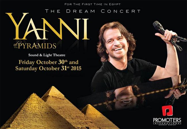 Yanni en egipto